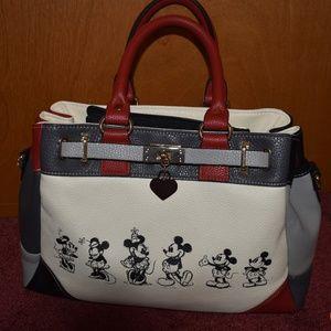 Bradford exchange Mickey Minnie bag